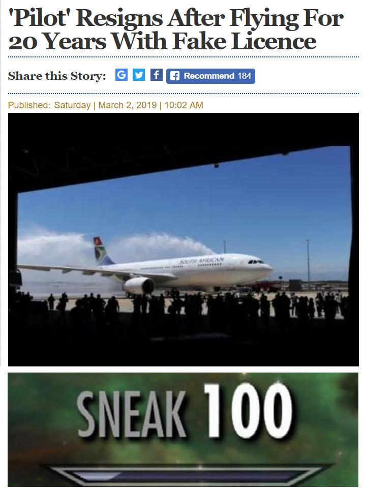 flight simulator - meme