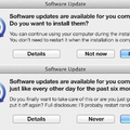 What I see on software updates