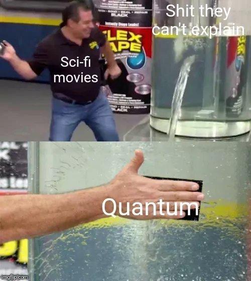 Intrication quantique mon cul - meme