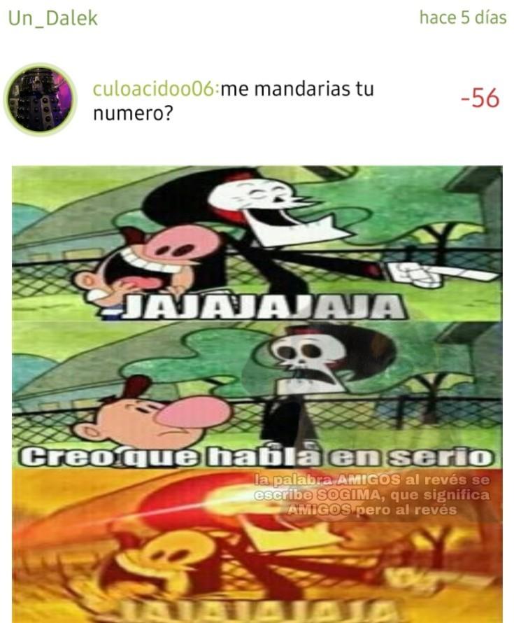 AJAJAJAJAJAJAJAJAJJA, que gracioso 7_7 - meme