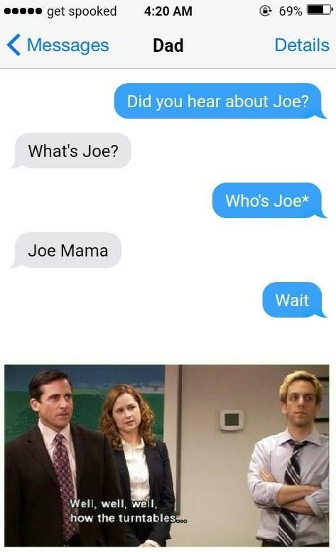 Joe? - meme