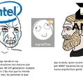 Intel muy caro para lo que ofrece. A esperar otro año a ver si sacan algo mejor
