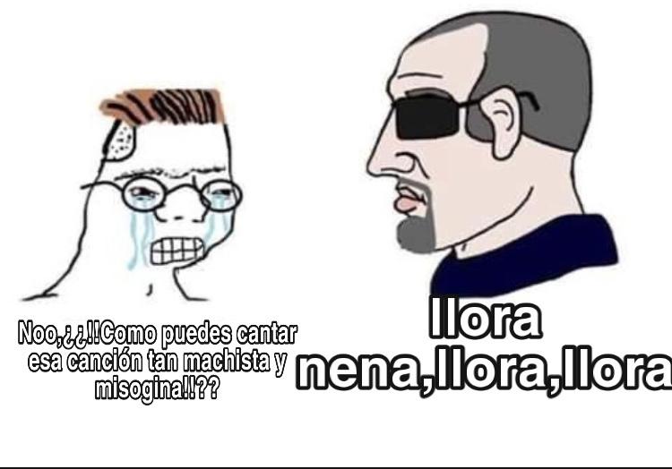 meme malardo,PERO ELLA ME LEVANTÓ