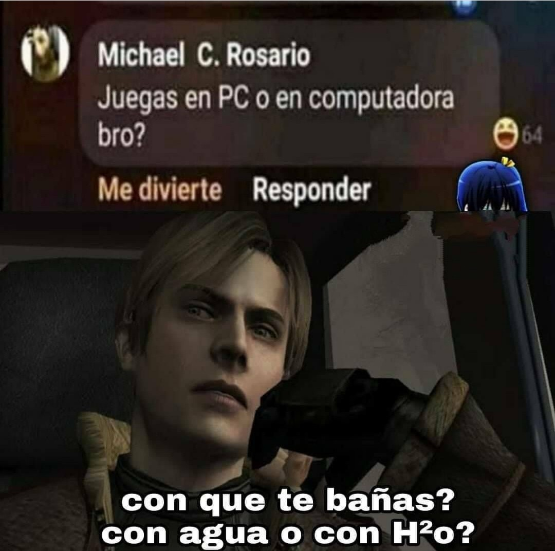 En PC2 - meme