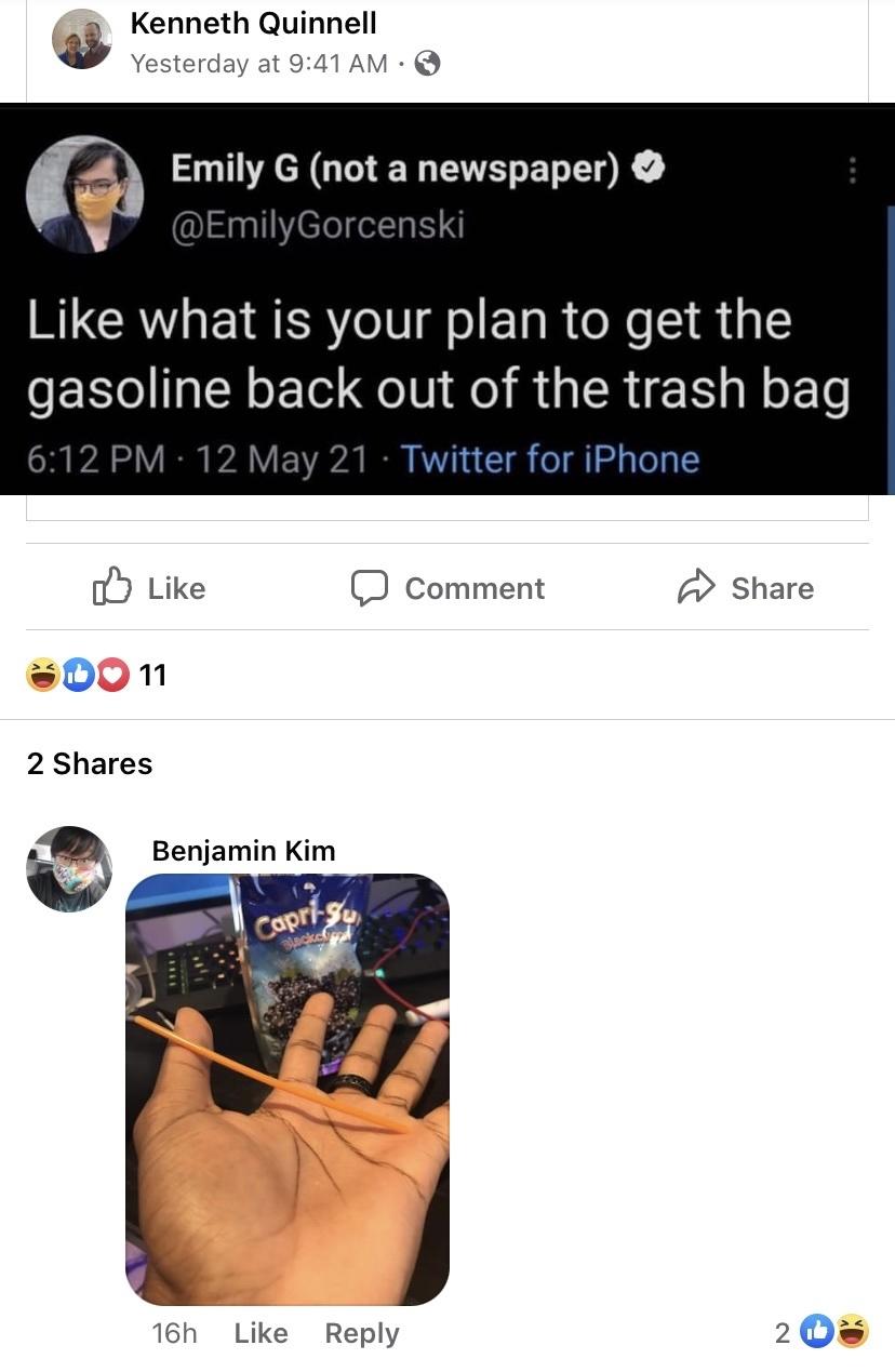 damn gas - meme
