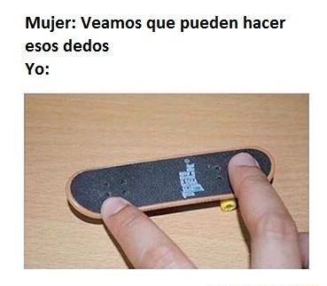Dedos - meme