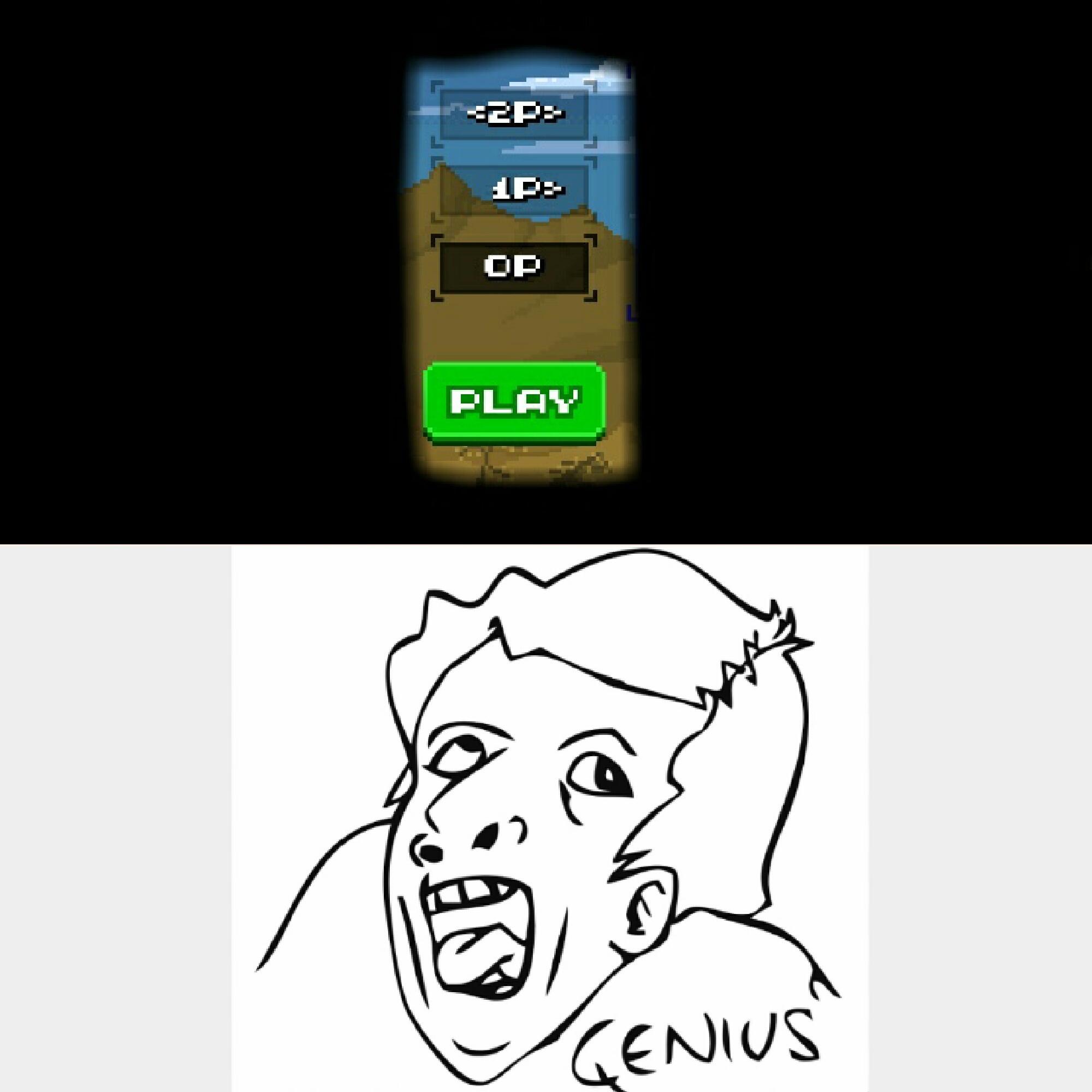 0 player... whaaat - meme