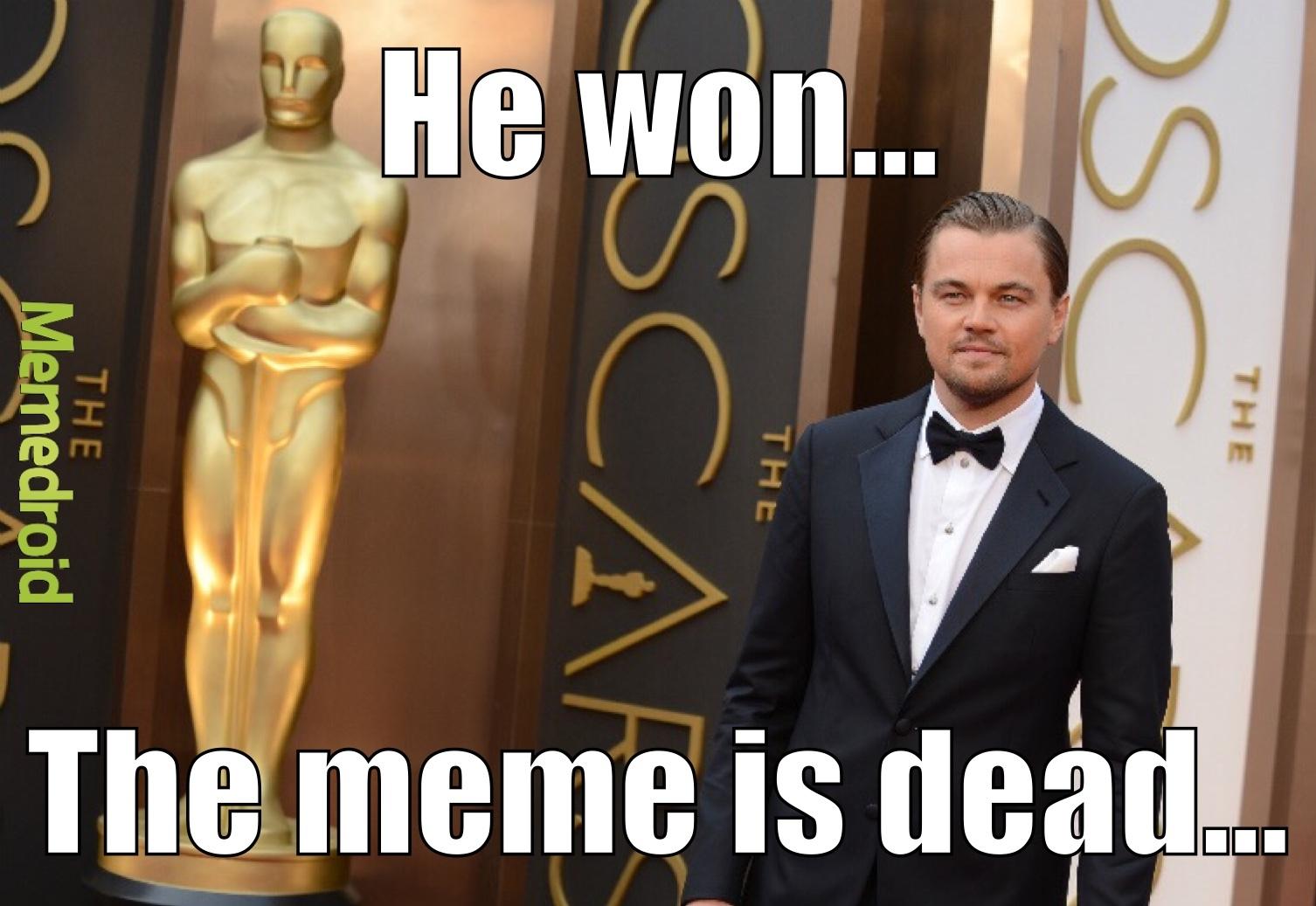 R.I.P Leonardo DiCaprio Memes