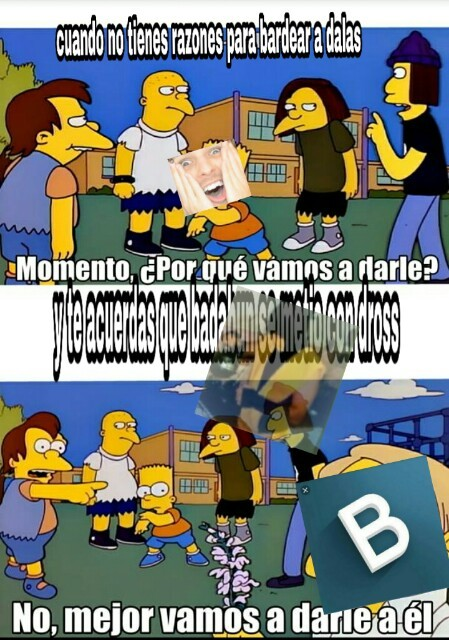 Dalas vs badabun pelea legendaria - meme