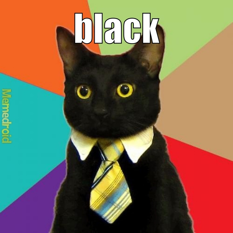 Business Cat - meme