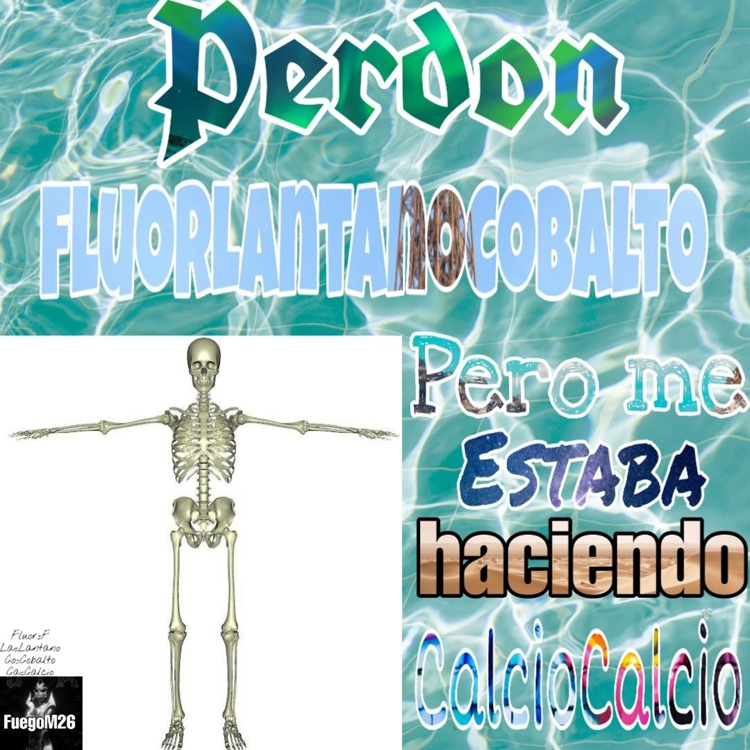 Che FluorLantanoCobalto - meme