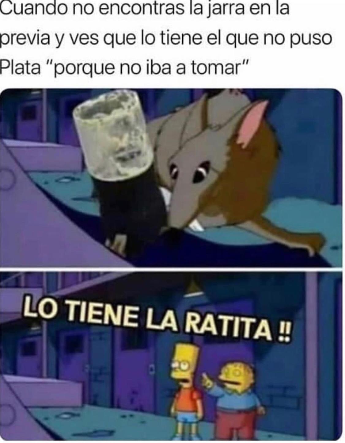 ese amigo raton - meme