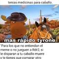 Comenten que caballo tienen en Rdr2