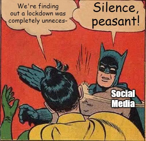 Oy vey, shut it ALL down! - meme