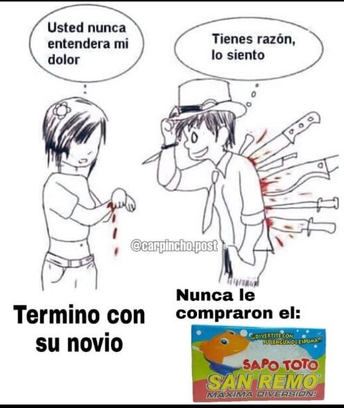 SOPLA AL SAPO TOTO Y DIVERTITE A LO CO - meme
