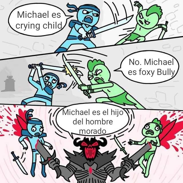 Quien es Michael? - meme