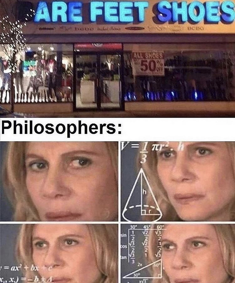 are they tho - meme