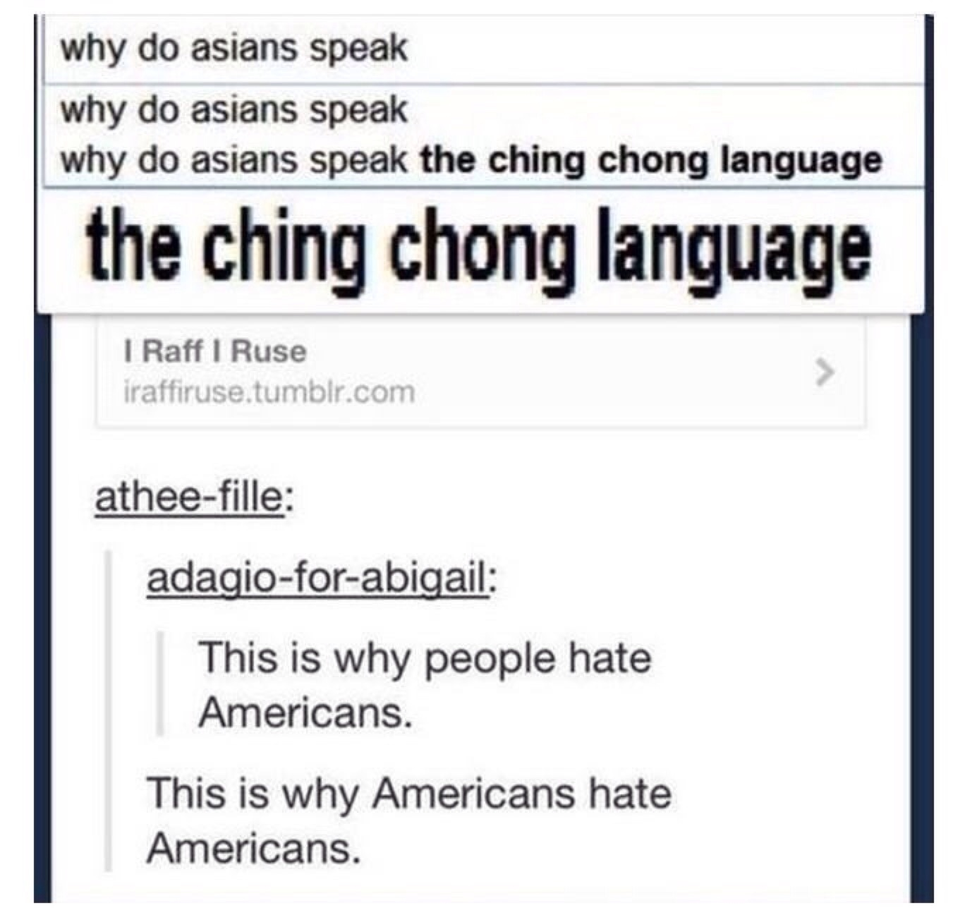 if you are reading this you speak the Ching Chong language - meme