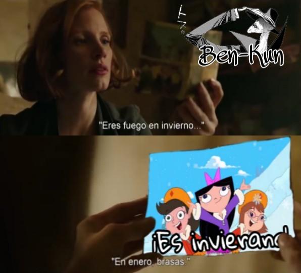 El todoriko esta celoso del Phineas - meme