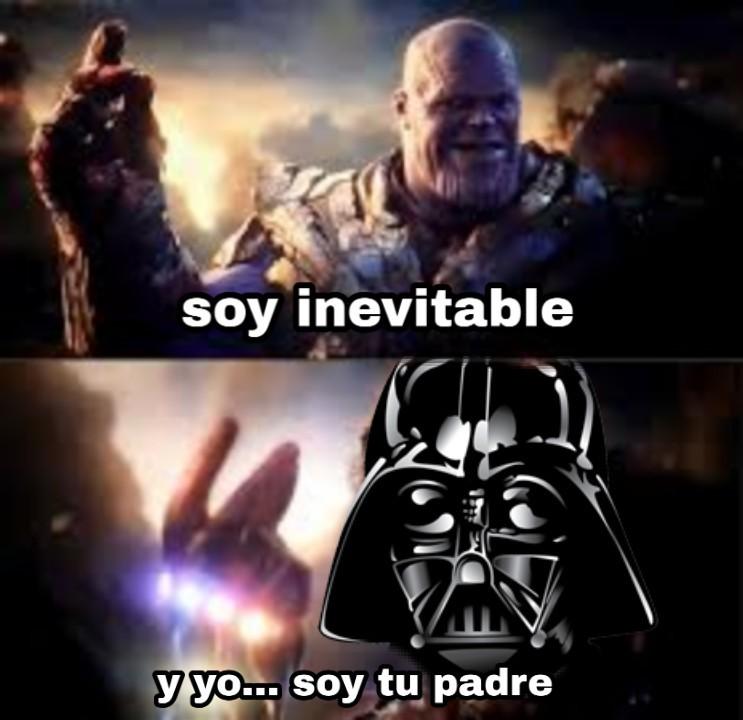 Yo soy tu padre - meme