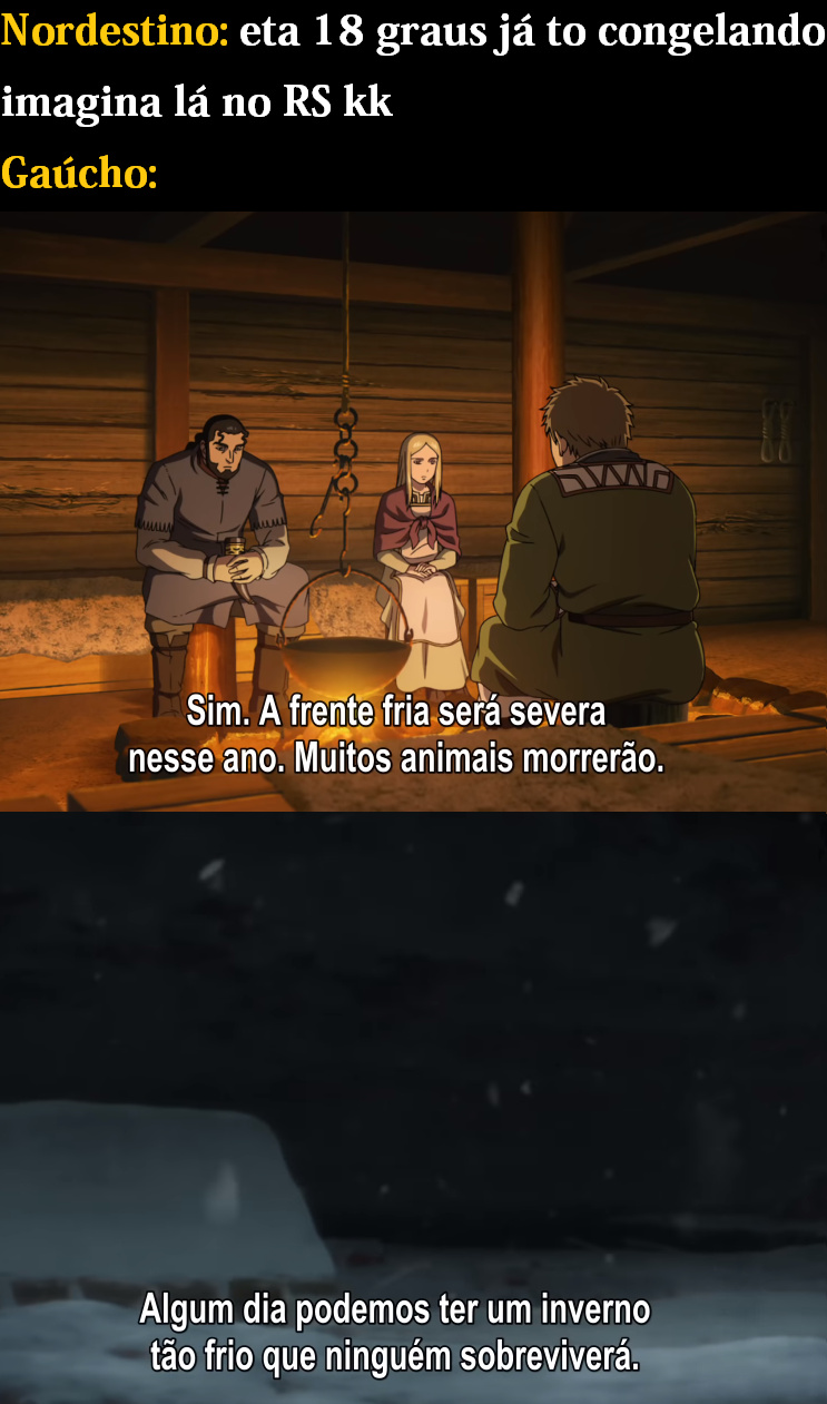 inverno russo é nd n - meme