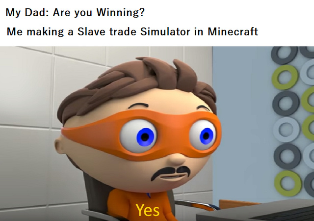 I'm winning! - meme