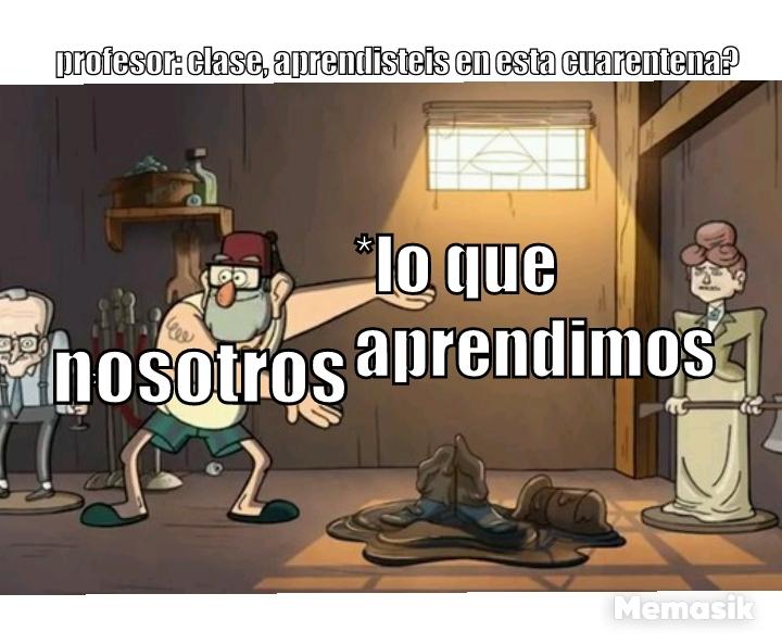 Cuarentena #3 - meme