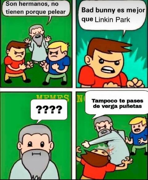 Pinches regeetoñeros - meme