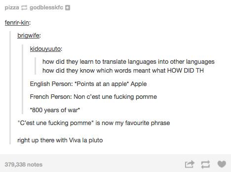 Since original content gets nowhere, a pomme should - meme