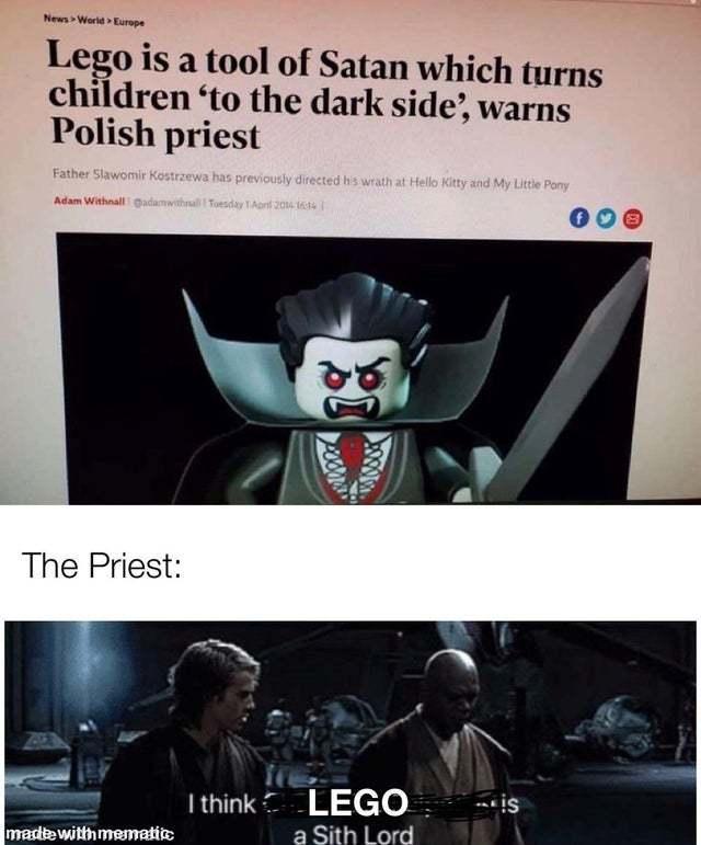 LEGO - meme