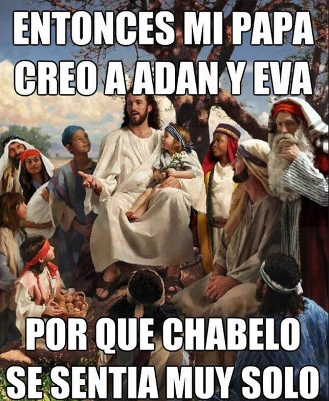 chabelo es mi pastor - meme