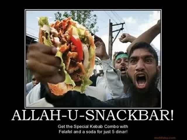 Allahu snackbar!!! - meme