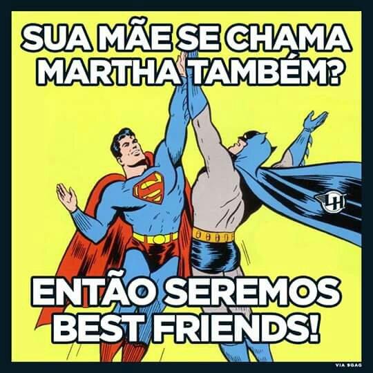 A minha é Marta :/ - meme