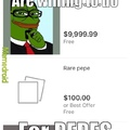 For pepes