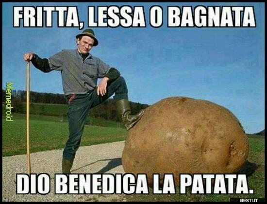 W la patata - meme