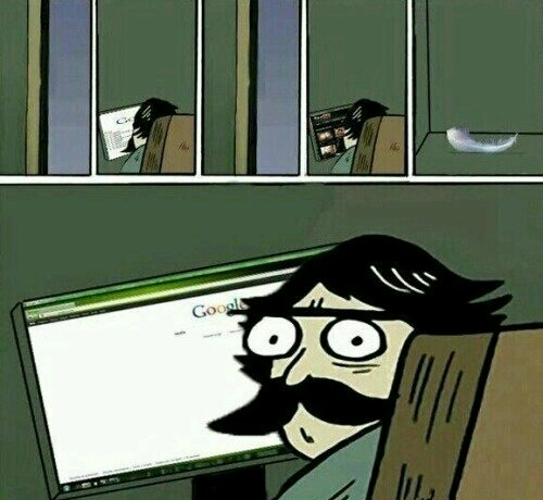 Reflexos ninjas - meme