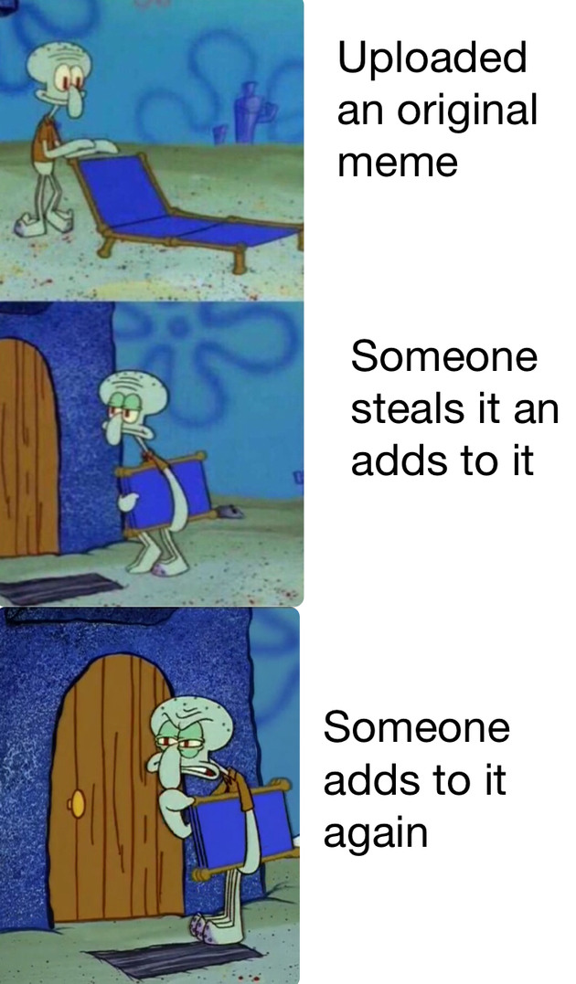 Stop stealing it - meme