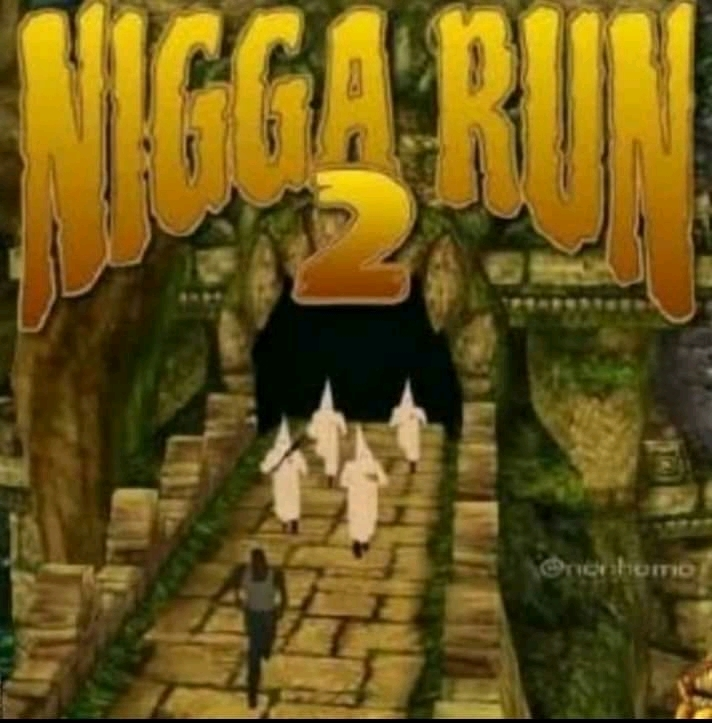 RUN NIGGA RUN - meme