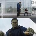 Hulk triste