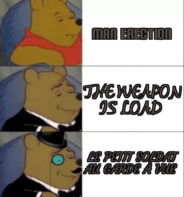 more beautiful - meme