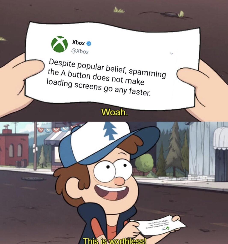 its a lie - meme