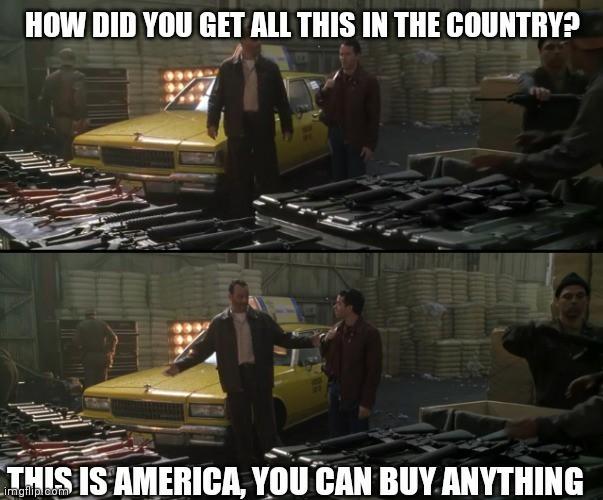 That is so American - meme