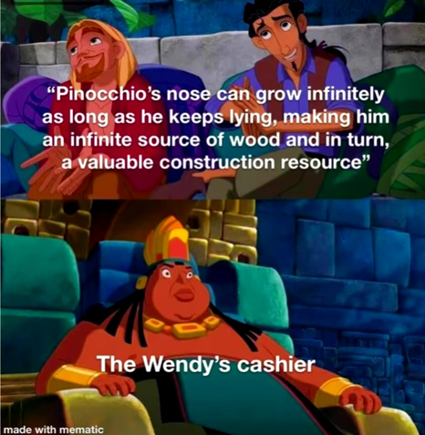 Pinocchio - meme
