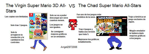 Lo peor es que no pusieron Super Mario Galaxy 2 - meme