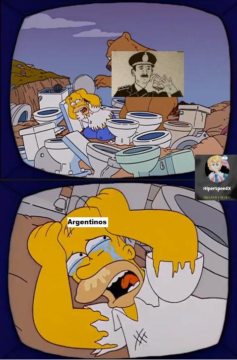 No sé qué onda pero el trauma que tiene Peronistán con los militares es perpetuo y molesto - meme