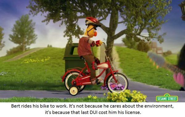 Poor Bert :( - meme