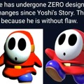 shyguy is immortal and perfect
