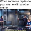 I wish we could comment memes here