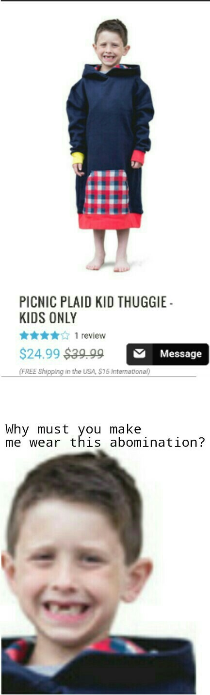 Thuggie.com if you want one. They have adult sizes and more colors too. - meme