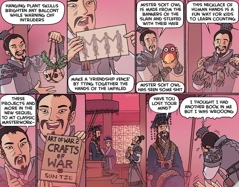 Oglaf comics, beware though - meme